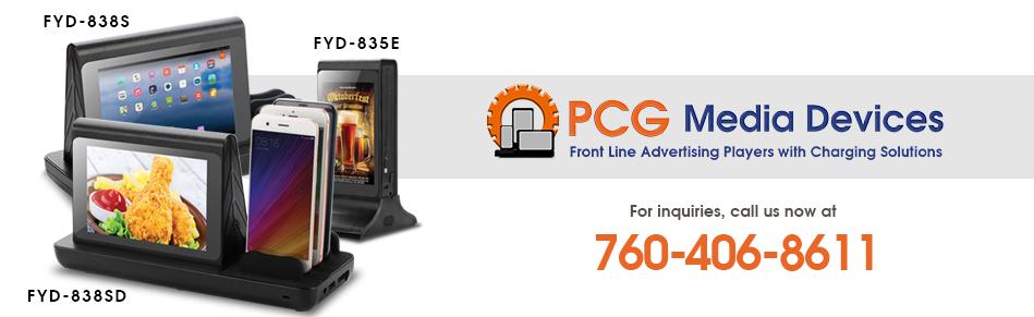 PCG Media Devices